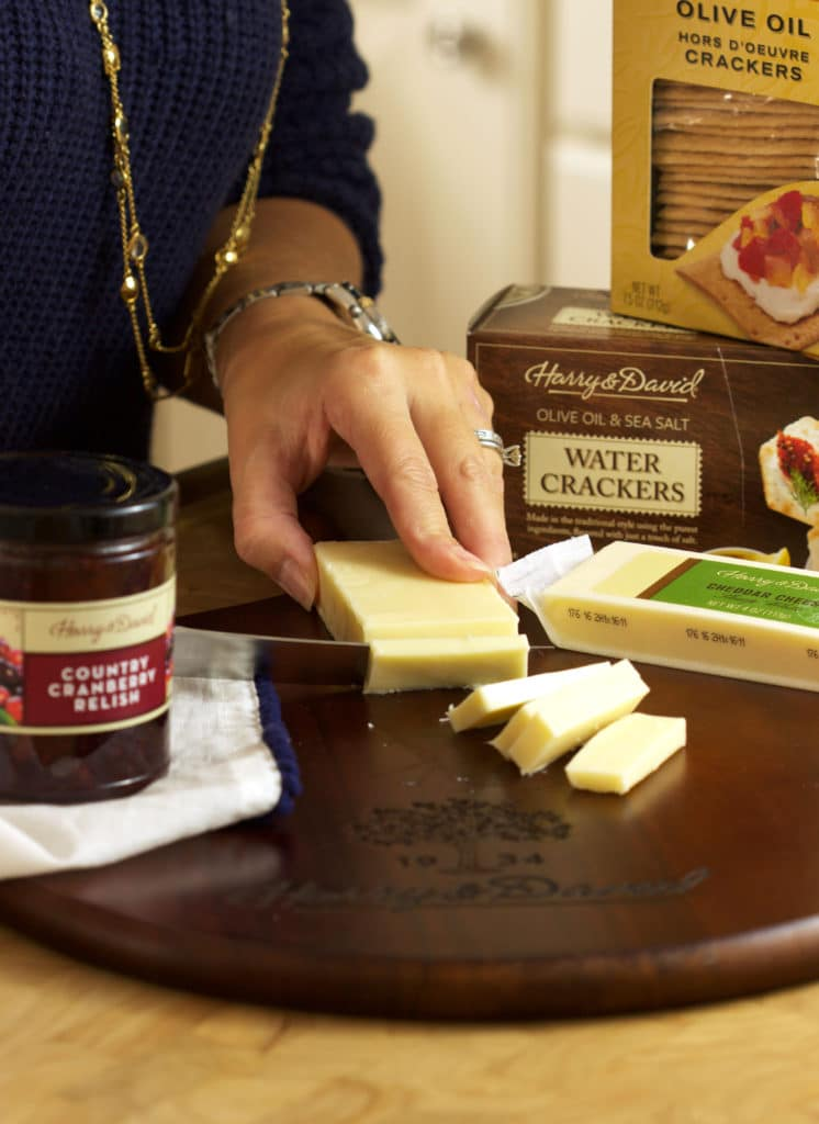 Super easy holiday appetizer recipe, just 3 ingredients are all you need for these addictive Cranberry Relish Cheddar Crackers | TheSuburbanSoapbox.com