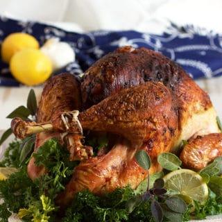 Easy Roasted Sage Pesto Turkey