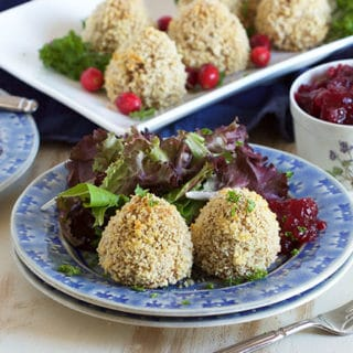 Two Ingredient Baked Turkey Croquettes