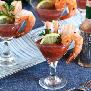 Garlic Roasted Shrimp Cocktail