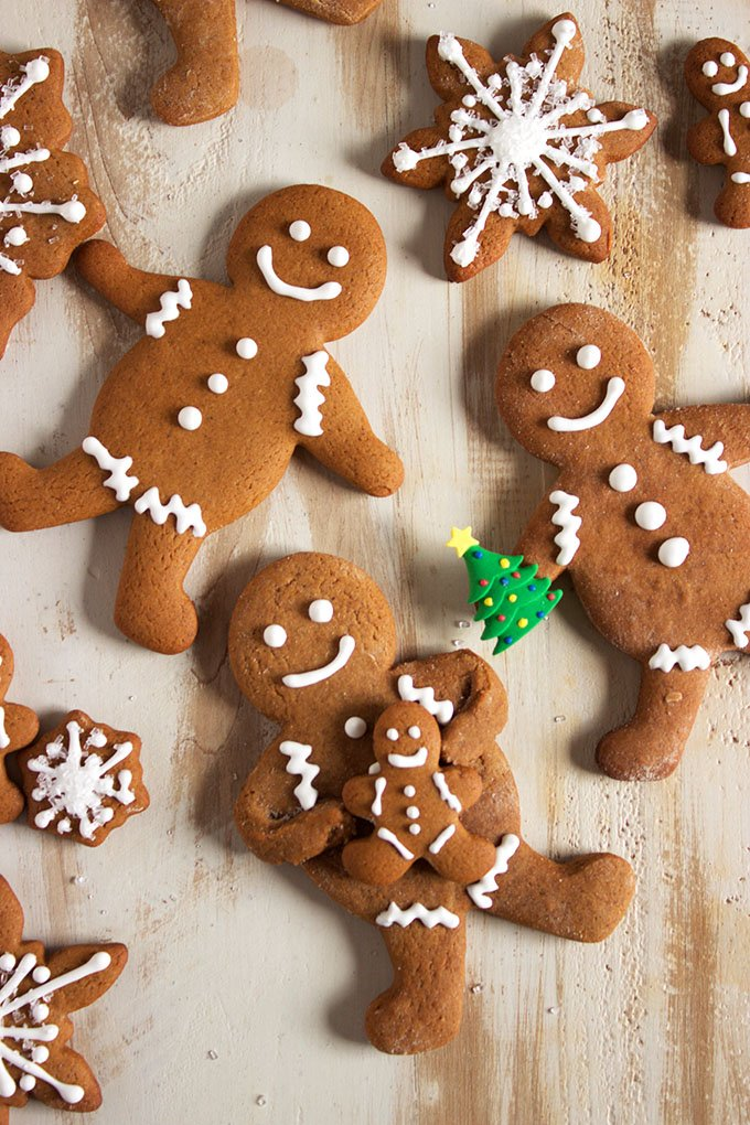 The BEST, easiest and most fool-proof Gingerbread Cookie Recipe ever. | TheSuburbanSoapbox.com