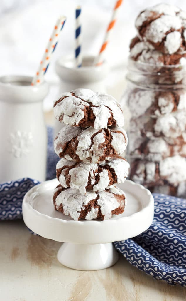 Easy to make and the Very Best Chocolate Crinkle Cookies recipe ever. | TheSuburbanSoapbox.com