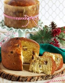 Super easy to make Panettone Recipe is the perfect addition to any holiday gathering. | TheSuburbanSoapbox.com