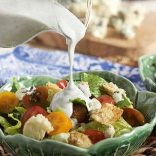 Easy Blue Cheese Dressing from Scratch