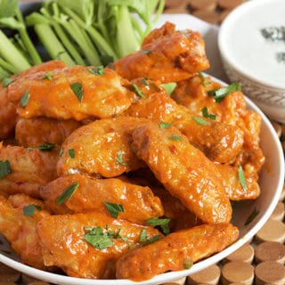 The Very Best Baked Buffalo Wings Recipe