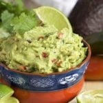 Super easy to make, this is the Very BEST Guacamole recipe ever. A must for game day.   TheSuburbanSoapbox.com