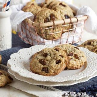 The Very Best Oatmeal Raisin Cookies