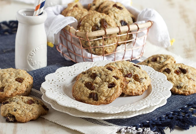 The Twelve Days of Cookies – Oatmeal Raisin Cookies