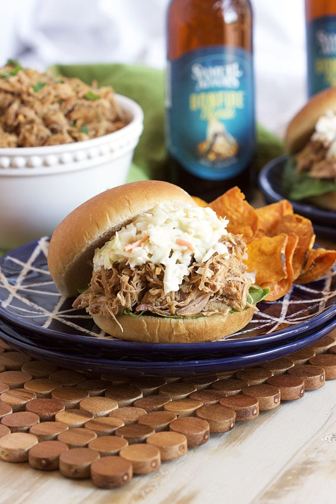 Super easy to make, this is the Very Best Slow Cooker Pulled Pork Recipe. Perfect crock pot cooking every time. | TheSuburbanSoapbox.com