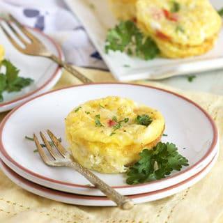 Easy Denver Omelet Egg Muffins