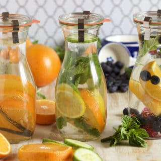 Fruit Infused Water 3 Ways
