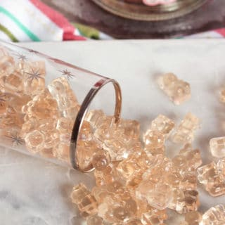 Pink Champagne Gummy Bears