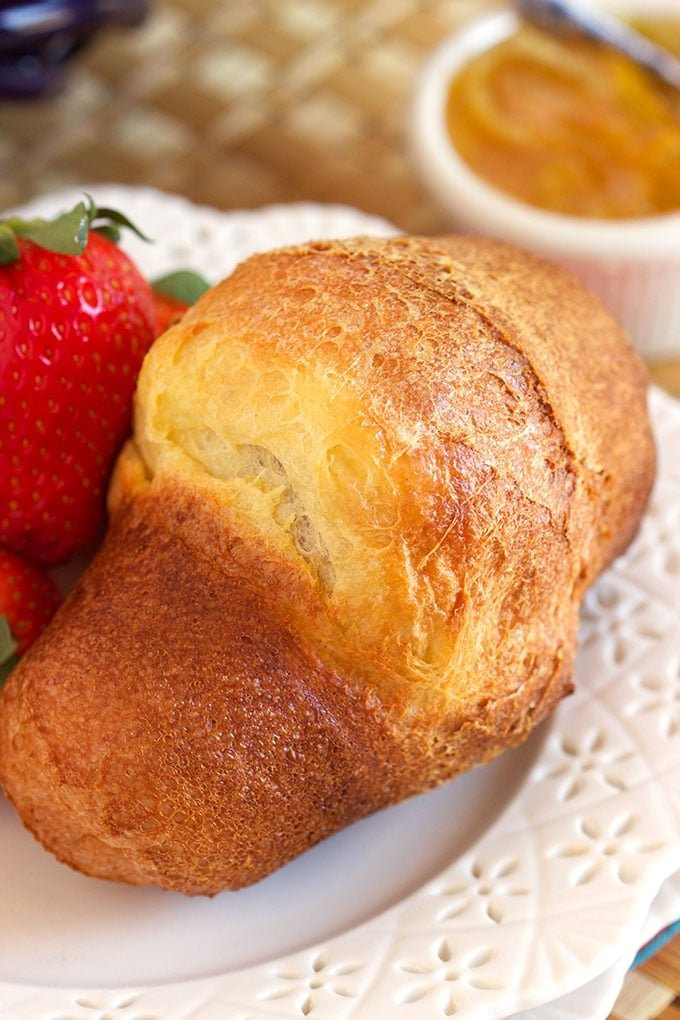 Super easy to make and always impressive, the very Best Popover Recipe is a dinner party must have! | TheSuburbanSoapbox.com