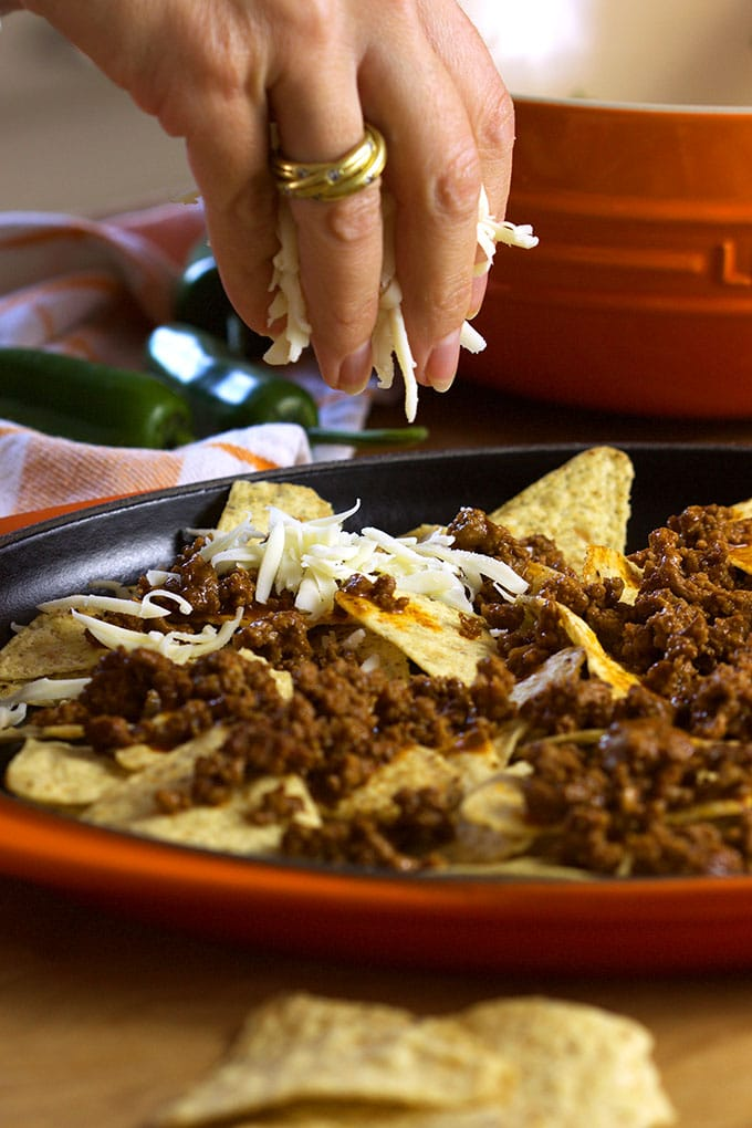 The Very Best Loaded Beef Nachos | TheSuburbanSoapbox.com