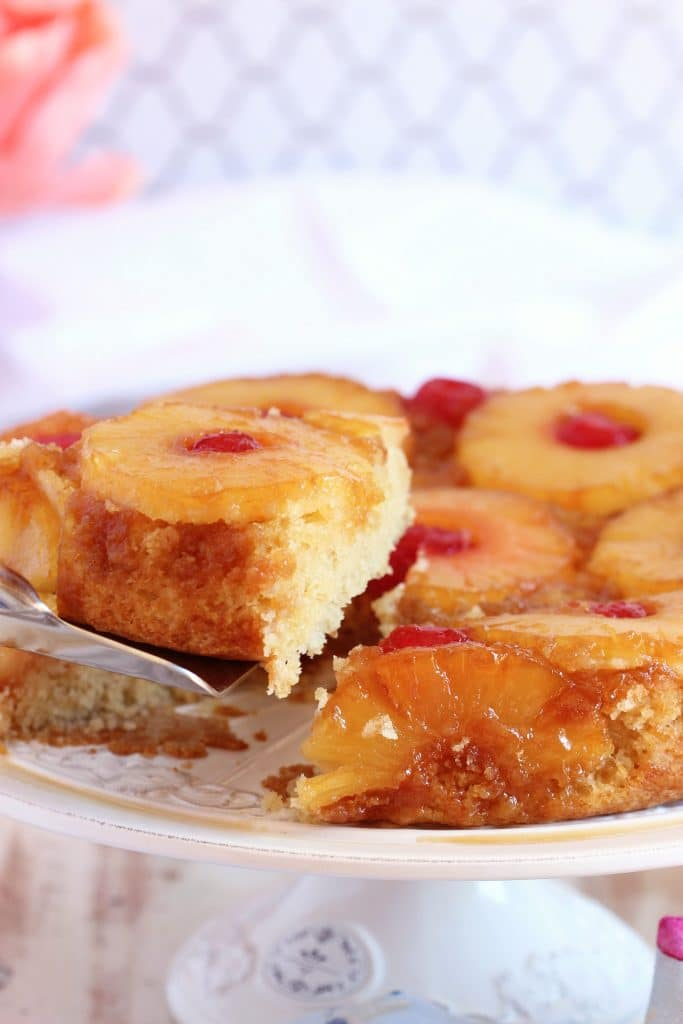 Pineapple Upside Down Cake Recipe | TheSuburbanSoapbox.com