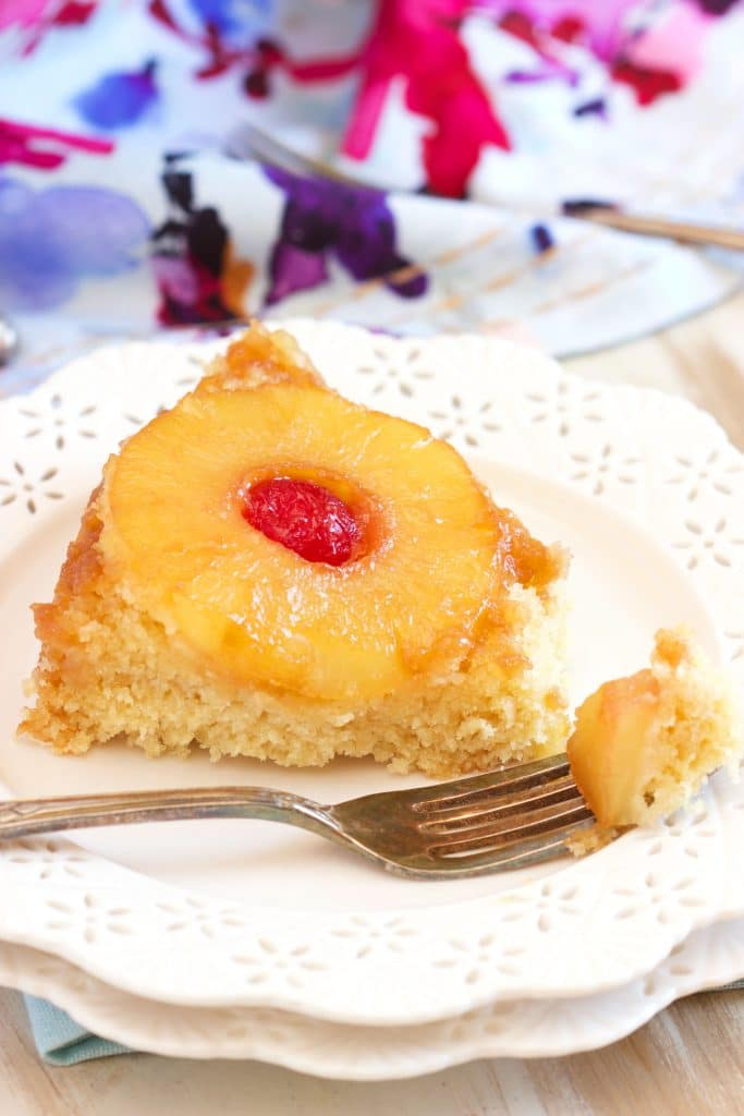 Pineapple Upside Down Cake Recipe | TheSuburbanSoapbox.com