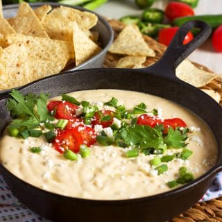 The Very Best White Queso Dip Recipe