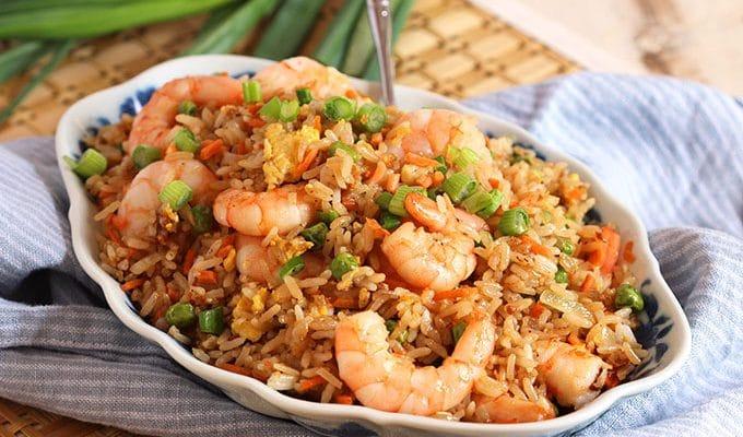 Easy Shrimp Fried Rice Recipe
