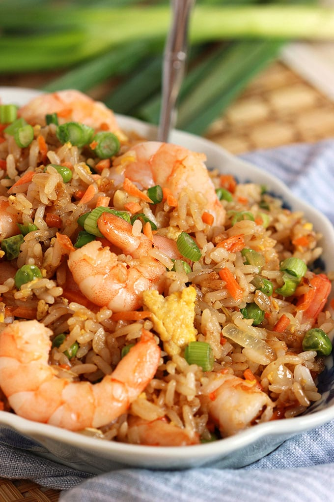 Easy Shrimp Fried Rice Recipe The Suburban Soapbox