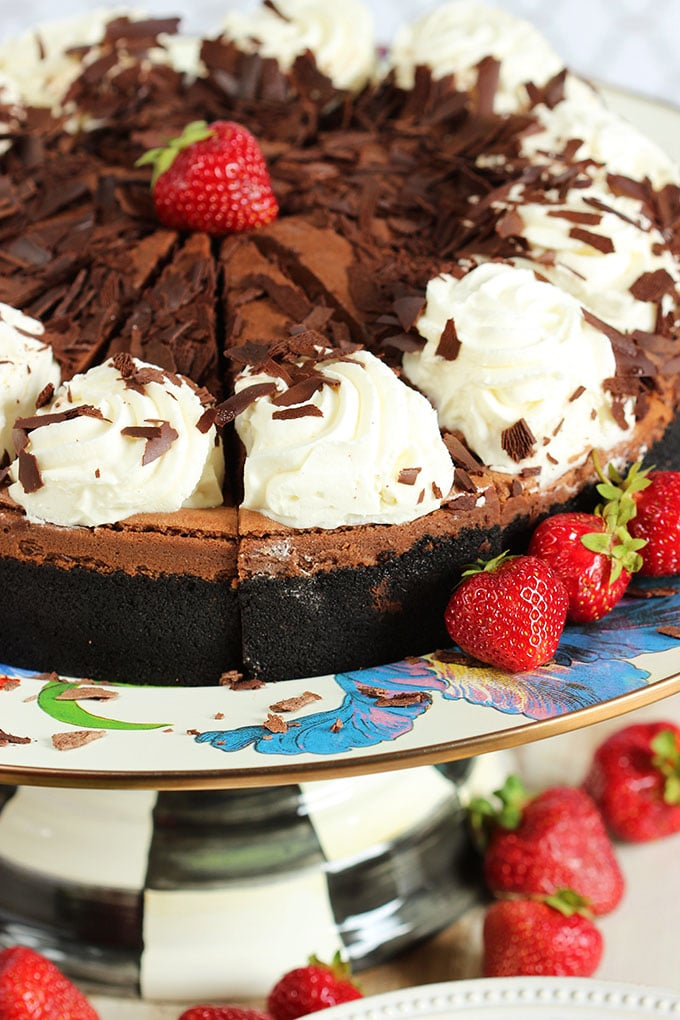 Cheesecake Factory Chocolate Mousse Cheesecake | TheSuburbanSoapbox.com National Cheesecake Day