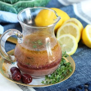 Easy Greek Vinaigrette Recipe