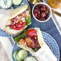 Grilled Chicken Gyro Recipe with Tzatziki Sauce | TheSuburbanSoapbox.com