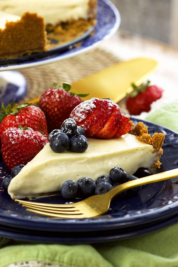 The Very Best No Bake Cheesecake Recipe | TheSuburbanSoapbox.com