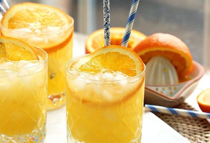 Orange Crush Cocktail Recipe | TheSuburbanSoapbox.com