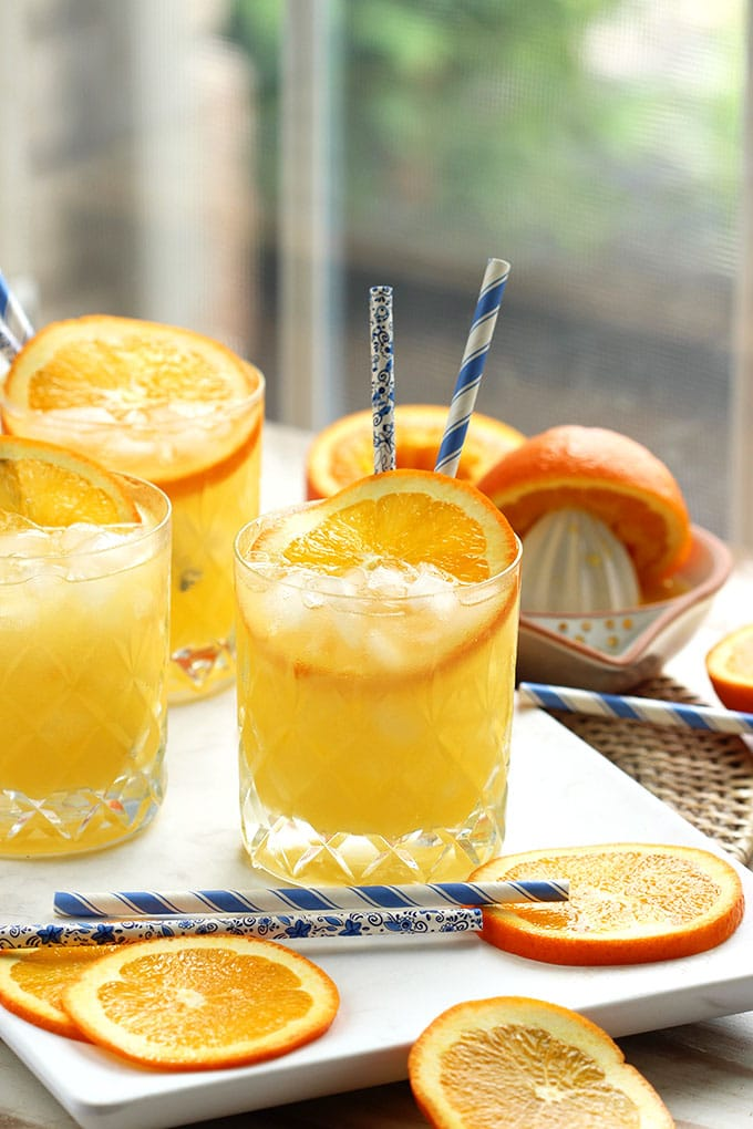 Orange Crush Cocktail Recipe | TheSuburbanSoapbox.com