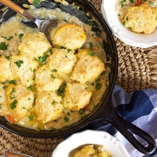 Chicken and Dumplings Skillet Casserole Recipe