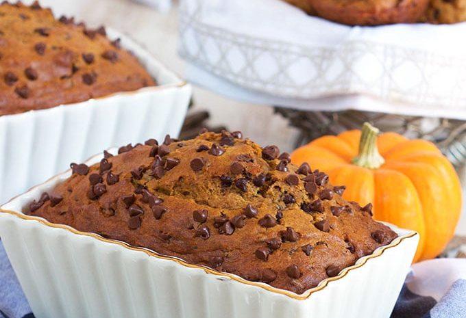 Chocolate Chip Pumpkin Bread Recipe | TheSuburbanSoapbox.com