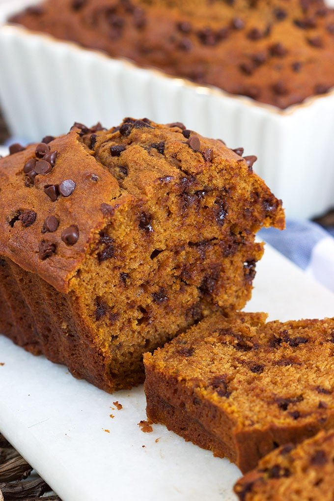 Chocolate Chip Pumpkin Bread | TheSuburbanSoapbox.com