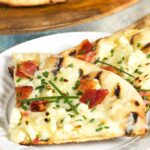 Grilled Corn Pizza with Bacon and Chives   TheSuburbanSoapbox.com
