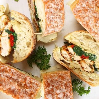 Italian Chicken Cutlet Sandwiches