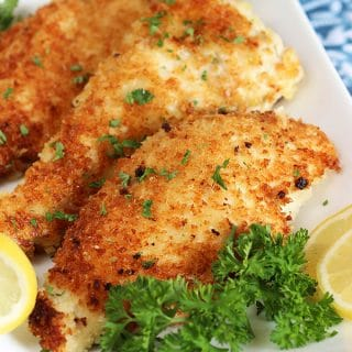 Easy Parmesan Crusted Chicken Cutlet Recipe
