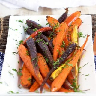 Honey Roasted Carrots with Tarragon
