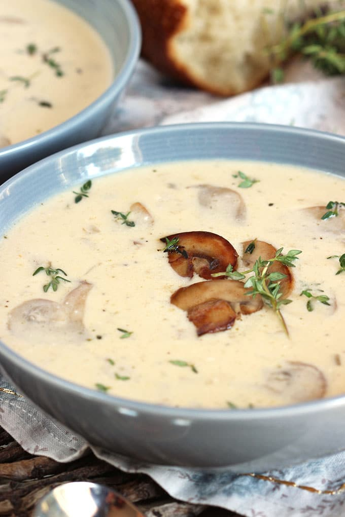 Easy Cream of Mushroom Soup Recipe | TheSuburbanSoapbox.com
