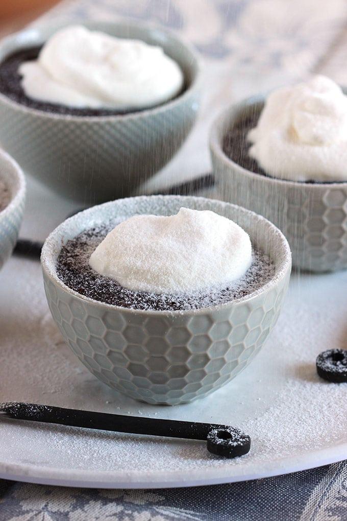 Instant Pot Chocolate Lava Cakes | TheSuburbanSoapbox.com