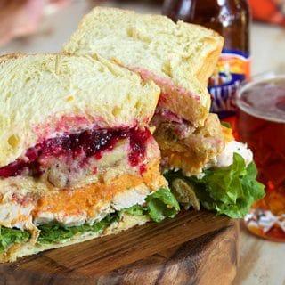 Ross Geller's Thanksgiving Leftover Turkey Sandwich