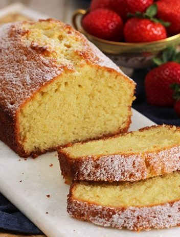 The Very Best Pound Cake Recipe | TheSuburbanSoapbox.com