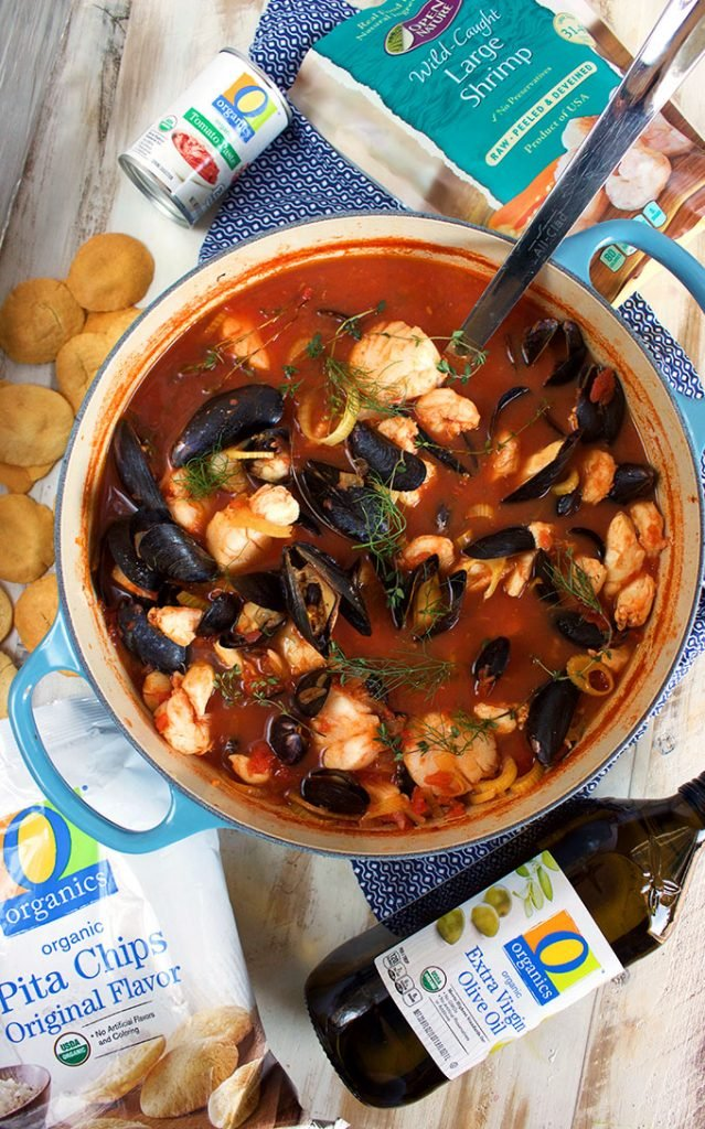 Easy Traditional Bouillabaisse | TheSuburbanSoapbox.com