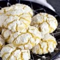 Gooey Butter Cake Cookies Recipe from Scratch | TheSuburbanSoapbox.com
