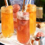Easy Mimosa Float Recipe   TheSuburbanSoapbox.com