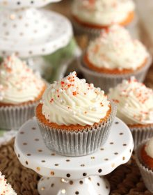 Orange Creamsicle Cupcake Recipe | TheSuburbanSoapbox.com