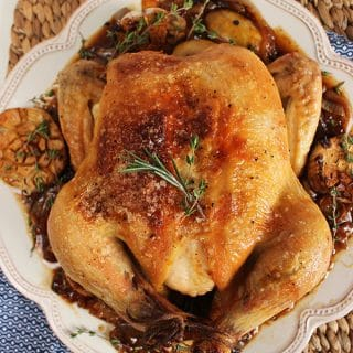 Royal Engagement Chicken Recipe and a Le Creuset Giveaway!