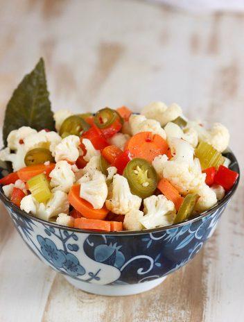 How to Make Quick Hot Giardiniera Recipe | TheSuburbanSoapbox.com