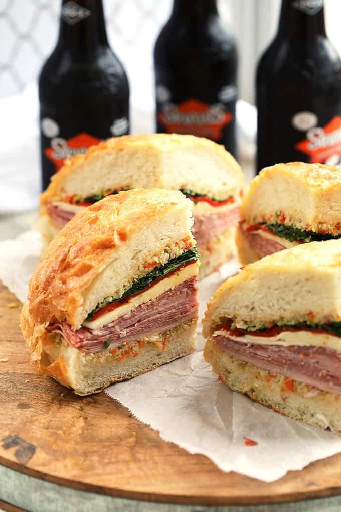 New Orleans Classic Muffuletta Sandwich Recipe - The ...