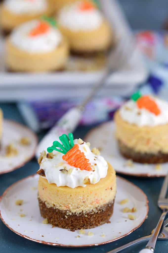 Mini Carrot Cheesecake Recipe The Suburban Soapbox