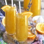 Sparkling Lavender Orange Mimosa Cocktail recipe from TheSuburbanSoapbox.com