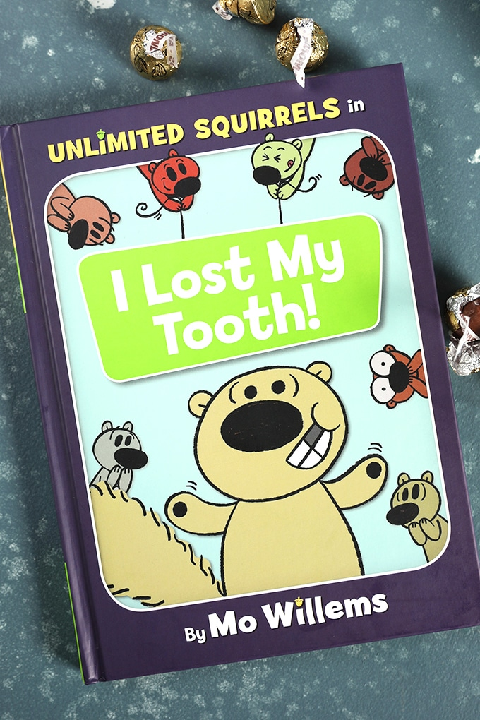 Unlimited Squirrels I lost my tooth book cover.